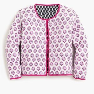 🆕NWT SZ Blockprints™ for J.Crew Reversible Jacket